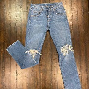 CARMAR distressed jeans